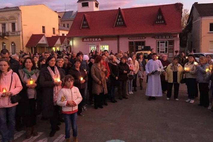 Покаянний похід у Косові Коломийської єпархії
