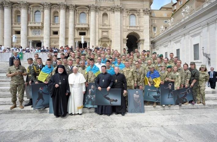 Українські військові і капелани повернулися з Міжнародного військового паломництва