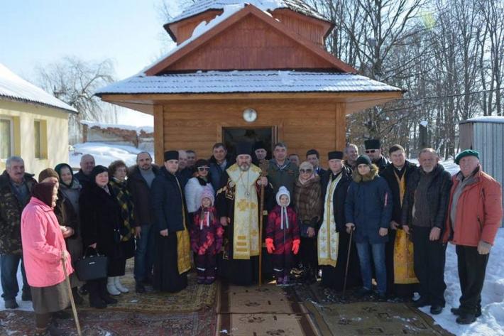 Посвячення каплиці Святого пророка Іллі на Коломийському летовищі