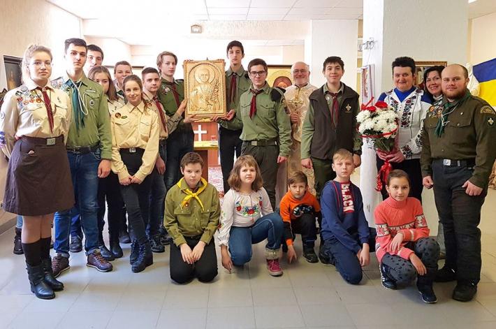 Ікону блаженного священномученика Омеляна Ковча подарували сєвєродонецькій парафії УГКЦ