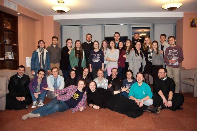 Брати редемптористи допомагали студентам УКУ краще пізнати живого Бога