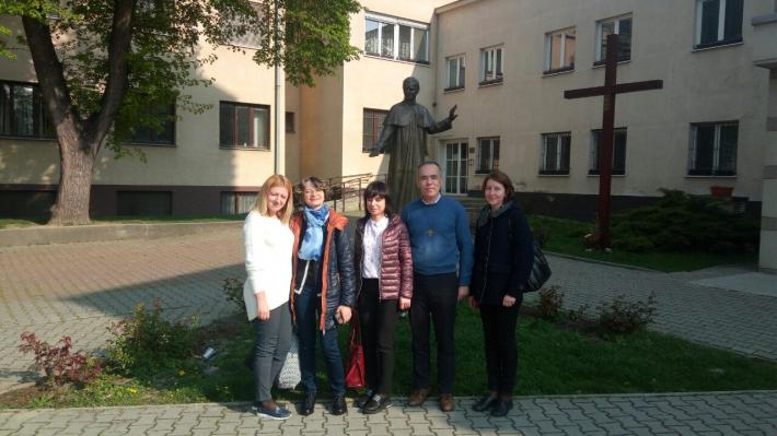 Викладачі львівської Школи-гімназії Шептицьких здобували досвід у Словаччині