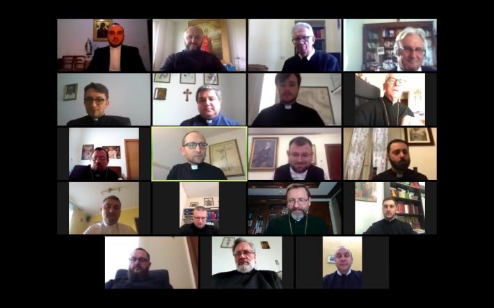 Онлайн-конференція душпастирів Римського центрального регіону з Блаженнішим Святославом