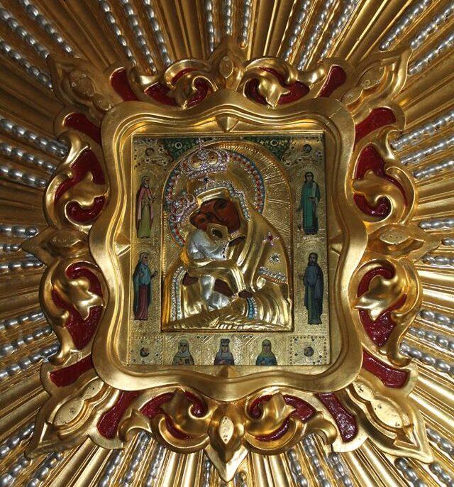 У львівському соборі Святого Юра виставлена для почитання одна з найшанованіших ікон Богородиці