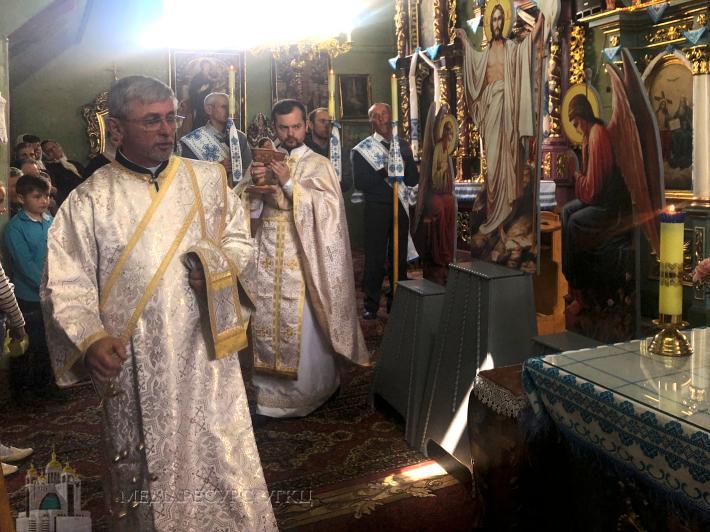 Мощі апостола Петра перебували у с. Верхня Яблунька