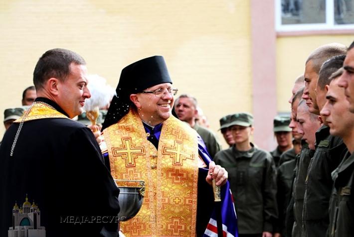 Владика Володимир Груца освятив військовий храм Віри, Надії, Любові та Софії
