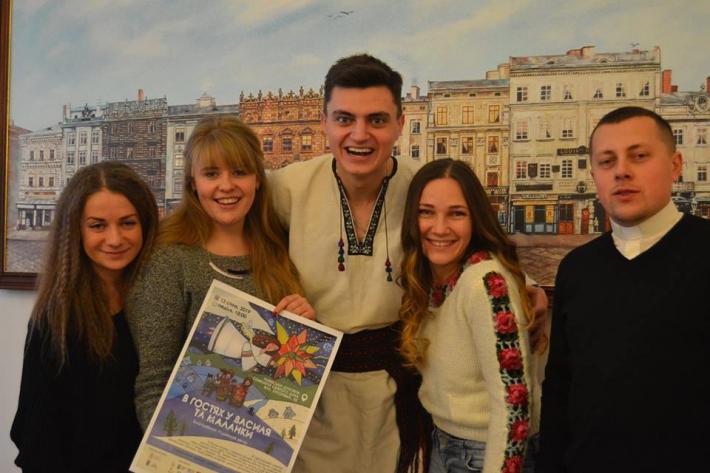 Львівські родини організовують благодійне родинне свято «В гостях у Василя та Маланки»
