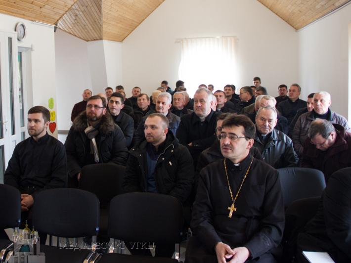 Семінар для священнослужителів «Містагогія Божественної Літургії» відбувся у Стрийській єпархії