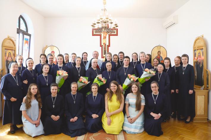 Сестри служебниці в Україні святкують свято провінції Співстраждання Матері Божої та ювілеї богопосвяченого життя