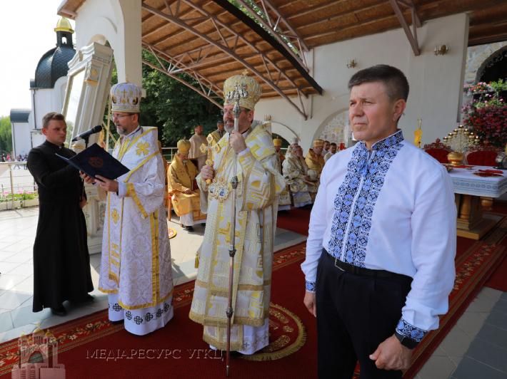 Глава УГКЦ нагородив Івана Васюника Орденом митрополита Андрея Шептицького
