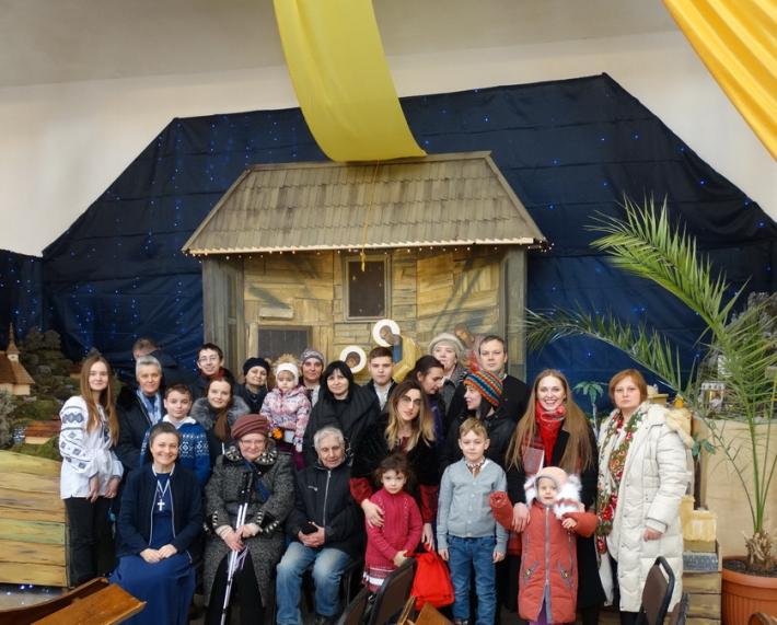 Переселенці з Донецька і Луганська відсвяткували «Прощання з колядою» в Брюховичах