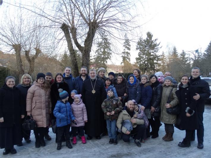 У Львові відбулася розколяда для родин, переселенців з Донбасу