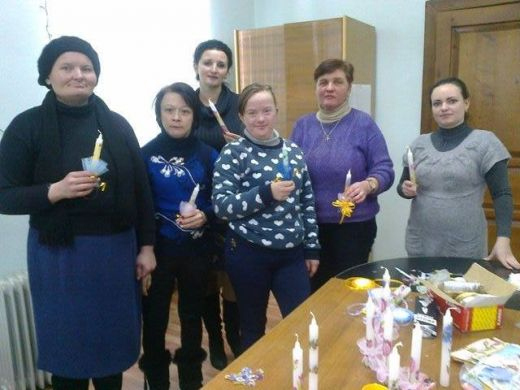 Франківський Карітас створює групи самодопомоги для молоді з інвалідністю (фоторепортаж)