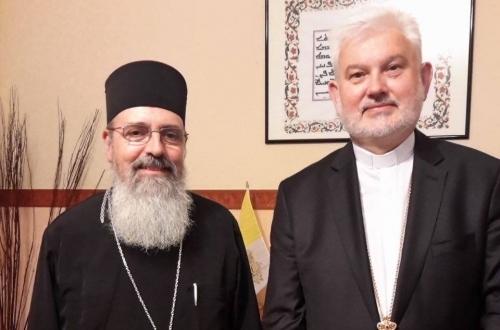 Владика Йосиф (Мілян) в Афінах представив нового священика для українців у Греції