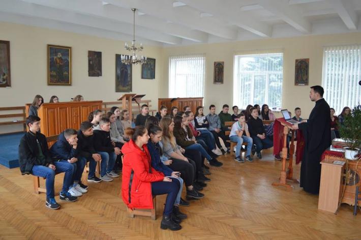 Учні катехитичних шкіл Львівської архиєпархії зустрілися на великопісних реколекціях