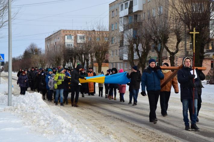 Мешканці Ковеля пройшли Хресною ходою вулицями міста