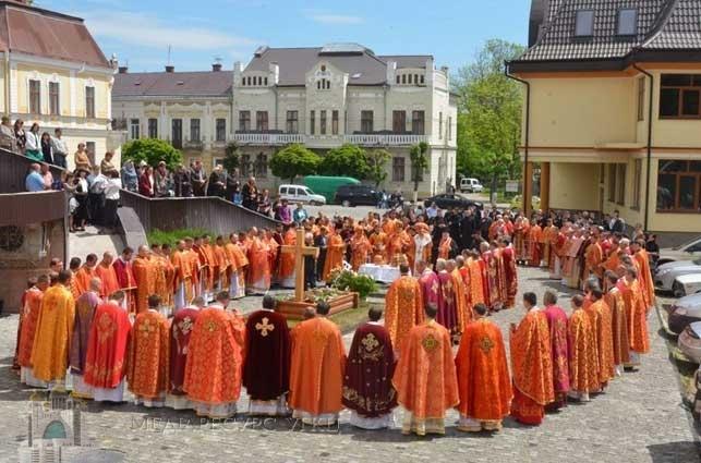 У Коломиї молилися за владику Миколу (Сімкайла) до річниці упокоєння