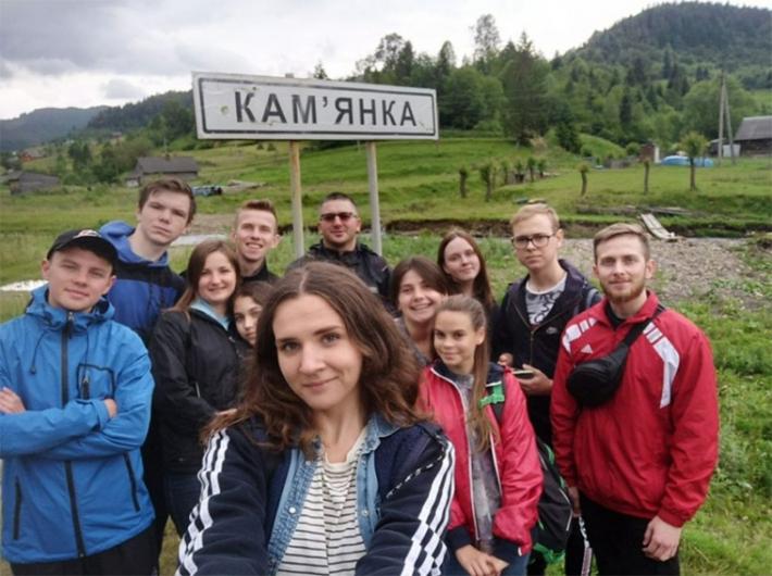 Харківська молодь духовно відпочила в Карпатах