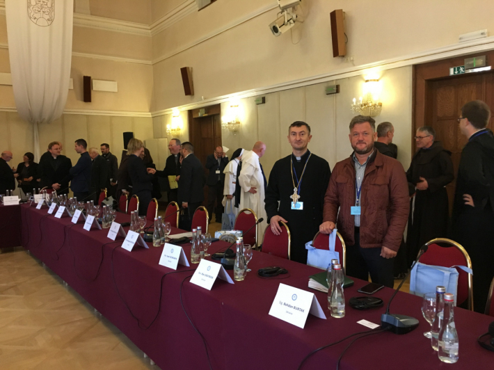 У зустрічі ректорів Марійських духовних центрів Європи в Словаччині взяли участь представники «Зарваниці»