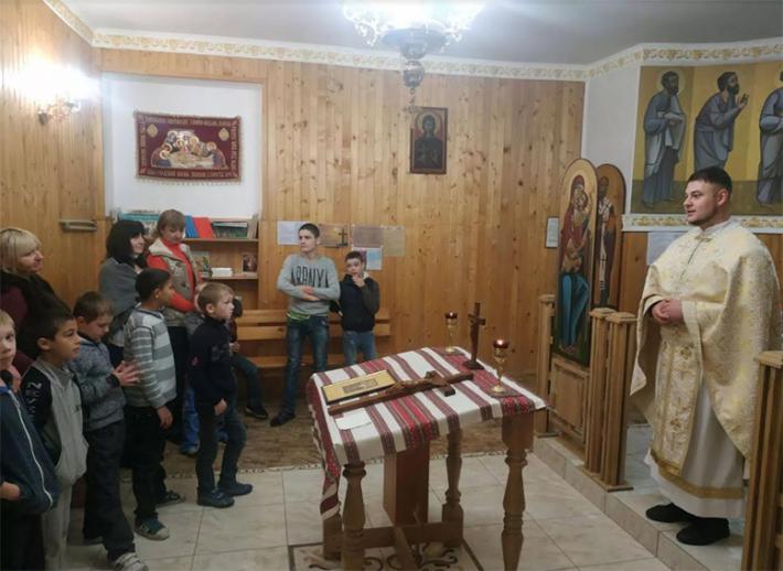 Капелани Центру опіки сиріт приєдналися до Всесвітньої молитви дітей на вервиці, яку започаткував Папа Франциск
