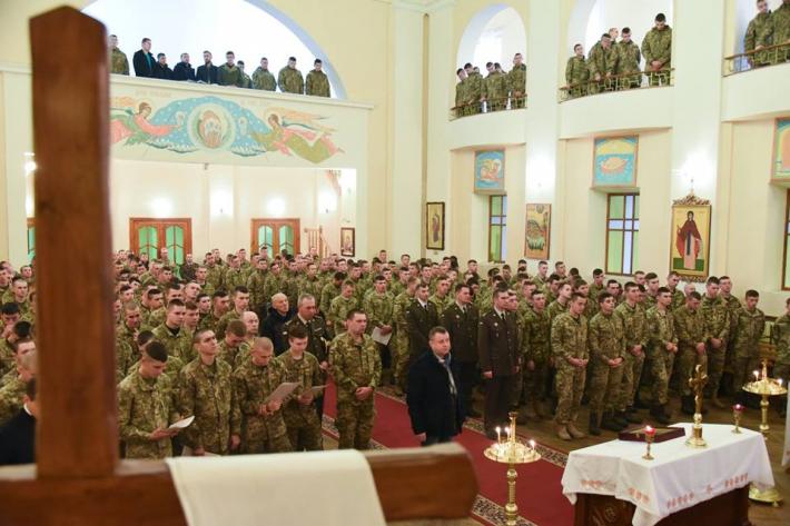 У Національній академії сухопутних військ святкували храмовий празник