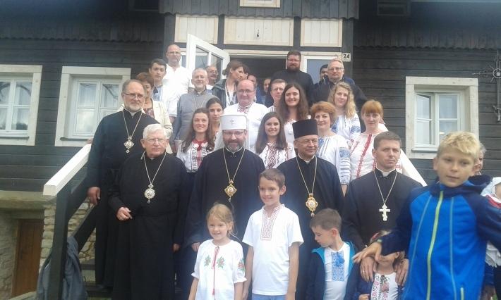 Глава УГКЦ освятив Сарептянський центр для молоді в Польщі