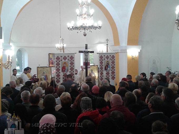 У Хмельницькому освятили п'ятий храм Української Греко-Католицької Церкви