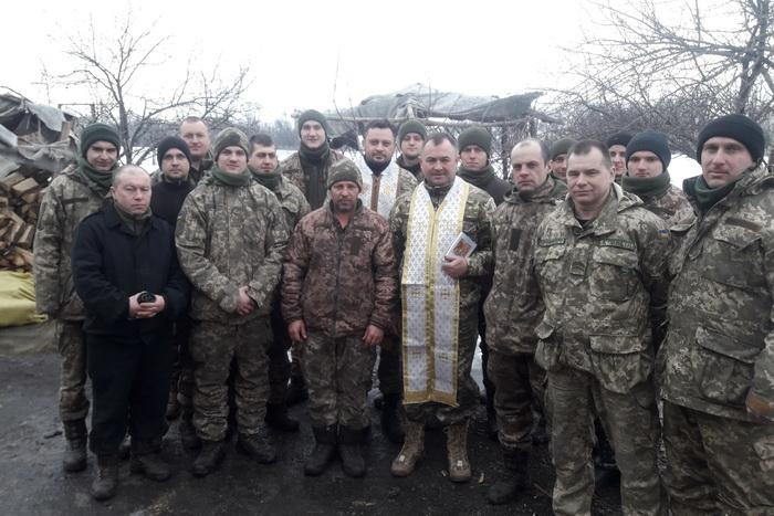 Священики-капелани Тернопільсько-Зборівської архиєпархії здійснили чергову духовну місію у зону АТО