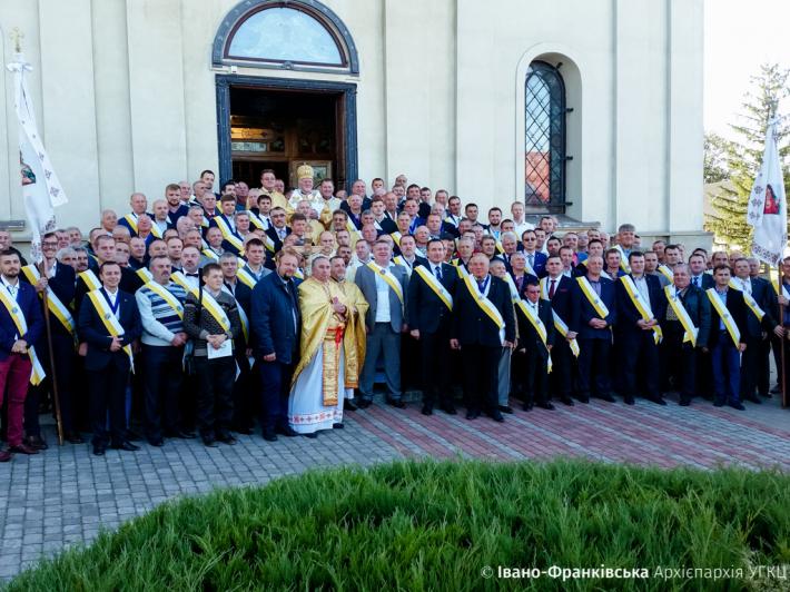 """Спільнота """"Лицарі Колумба"""" провела Всеукраїнську прощу в Гошеві"""