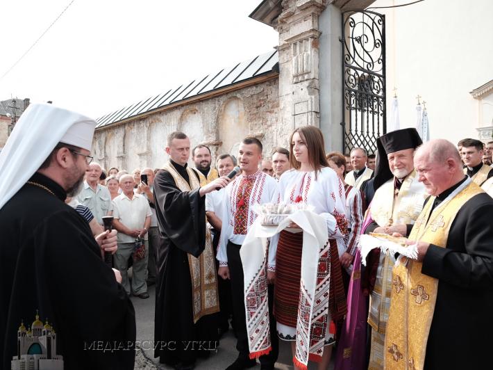 У Жовкві відбувся Чин архиєрейського найменування владики Петра (Лози)