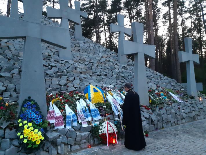«Биківня – наш біль і заклик до пам'яті», – роздуми владики Богдана Дзюраха над Биківнянськими могилами