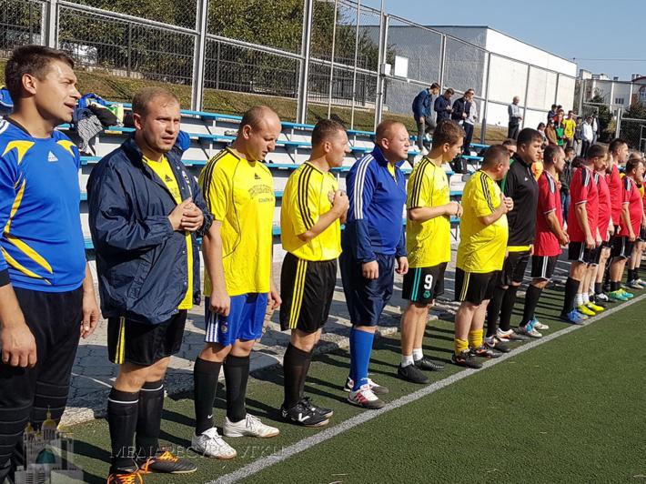 У Тернополі вперше пройшов турнір з мініфутболу серед священників