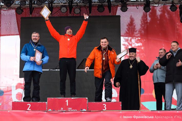Священники та семінаристи позмагалися за першість з гірськолижного спорту