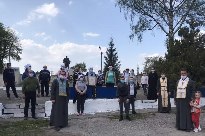 Матері Тернопільщини здійснили пішу прощу до Зарваниці