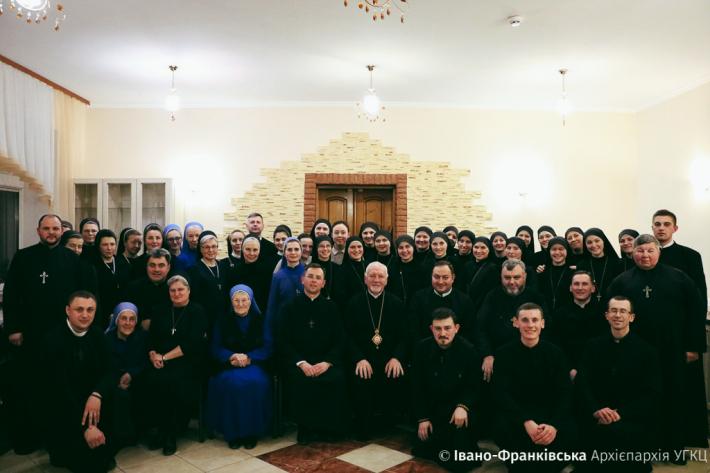З нагоди Дня монашества богопосвячені особи Прикарпаття зустрілися на спільну молитву