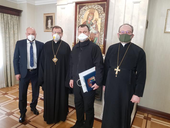 Блаженніший Святослав провів робочу зустріч з головою Національної поліції України