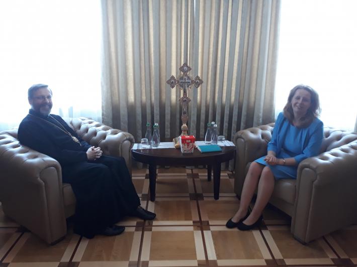 Глава УГКЦ зустрівся з головою Державної служби України з питань етнополітики та свободи совісті