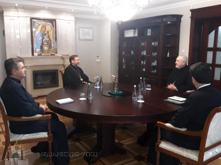 Глава УГКЦ зустрівся з делегацією Константинопольського Патріархату