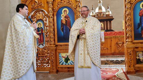 Святу місію провели в парафії села Званівка Донецького екзархату