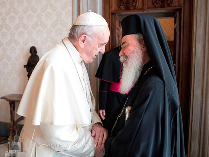Папа: «Відмова дбати про єдність між християнами – найбільша провина»