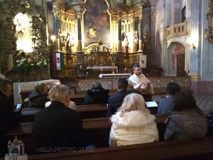 У Будапешті відбулися різдвяні реколекції