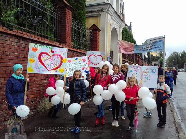 У Дрогобичі відбулася молитовна хода «Почуй німий крик»