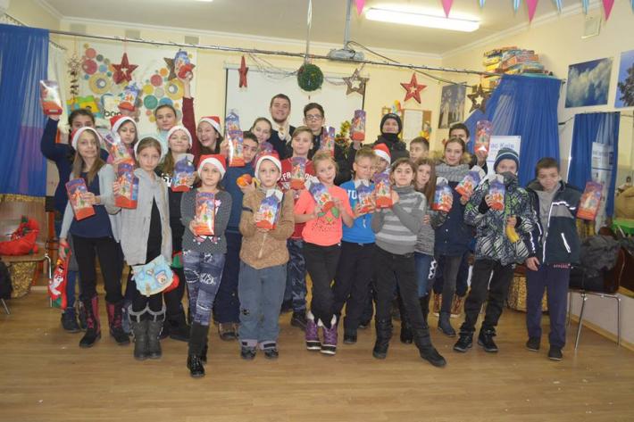 Святий Миколай «Карітас-Київ» з подарунками відвідав понад 2300 дітей