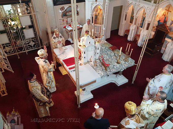 Глава УГКЦ у Брадфорді: «Християнська солідарність збудувала нашу Церкву у Великій Британії»