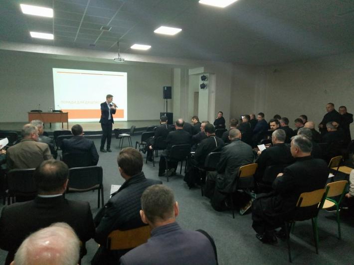 Про протидію корупції говорили на формаційній зустрічі для священиків Самбірсько-Дрогобицької єпархії УГКЦ