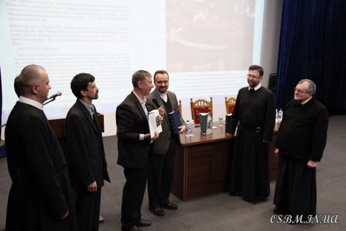 У Василіанському інституті презентували монографію українських і литовських науковців про Вільнюський монастир