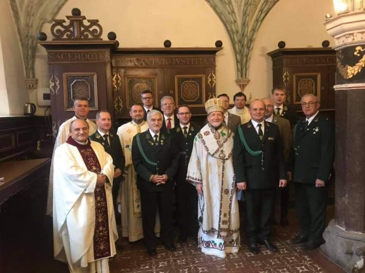 Владика Михайло Колтун взяв участь у польському форумі мисливців