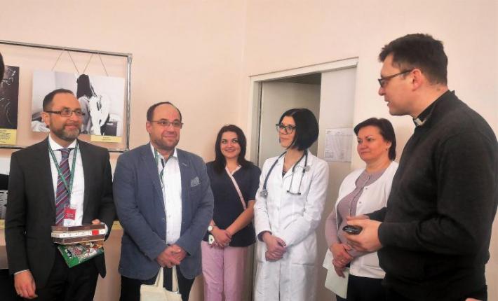 Шпиталь Шептицького з робочим візитом відвідали представники БФ Святого Луки із Альтенбурга