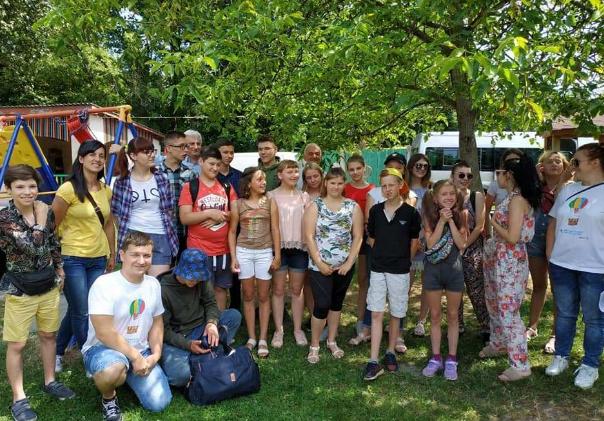 БФ «Карітас-Львів» організував дитячий табір «Омріяний відпочинок»