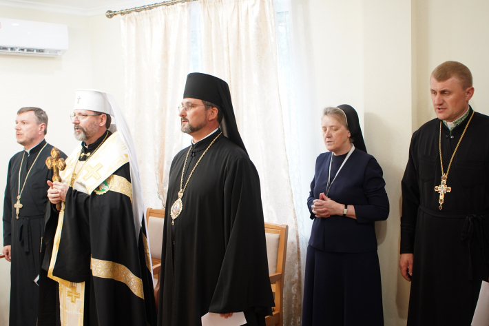 Глава УГКЦ освятив в Одесі чернечий дім Згромадження cестер cлужебниць Непорочної Діви Марії